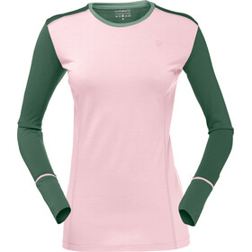 Norrøna Wool Round Neck Shirt Women Candy Pink